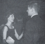Can you name the Exchange Student that John Rollins is dancing with at the Prom?
