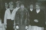 Homecoming Queen Candidates: Molly, Gayle, Carol, Terry, & Francie