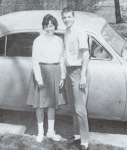 What year and make of car are Lyn & Scott going out in?